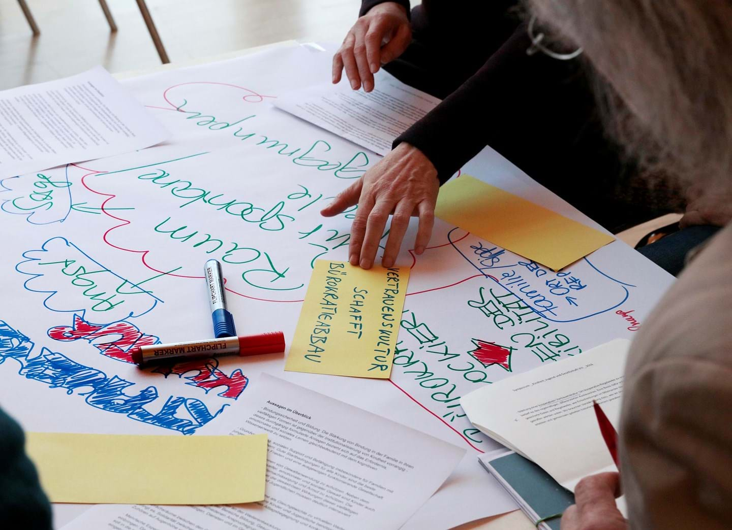 People have their say in the World Café